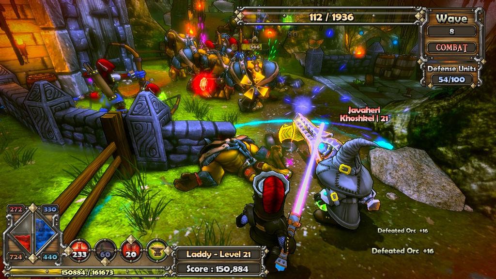 dungeon defenders 2 online
