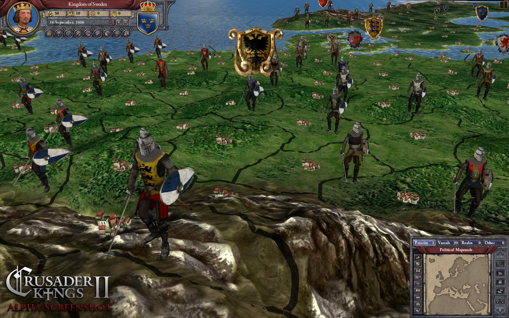Игру Crusader Kings