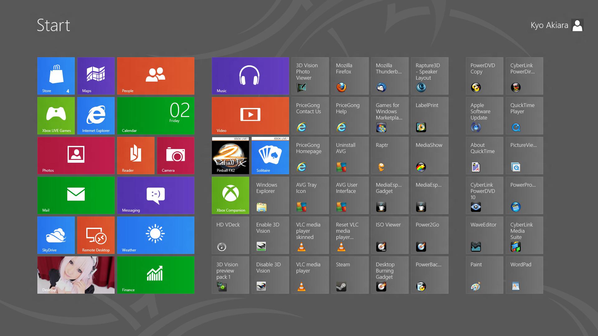 Как сделать слайд windows 8
