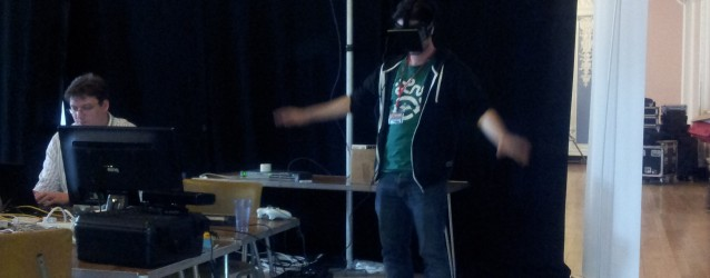 Kinect and Oculus Rift Combined for Dragon Eyes