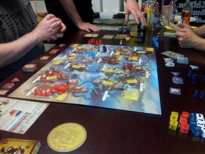 Bioshock Infinite Boardgame
