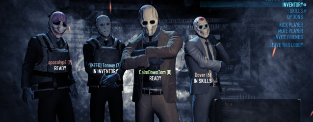CalmDownTom is Robbing… Payday 2 – Bank Heist