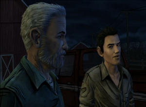 Hershel and Shawn Walking Dead