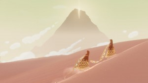 Journey pink desert