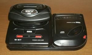 Mega Drive Mega CD 32X
