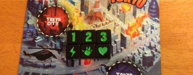 Cards & Dice & Tabletops: King of Tokyo