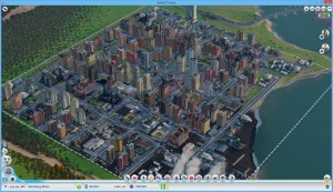 SimCity Small City Size