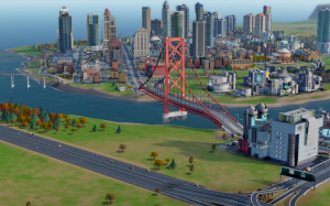 SimCity bridge