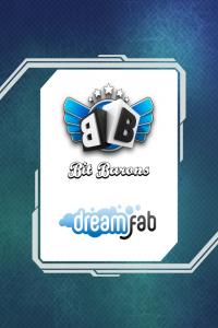 Bit Baron and Dreamfab logos