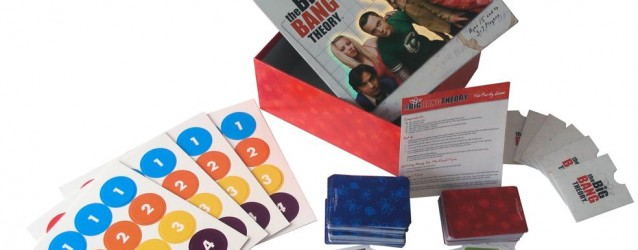 Cards & Dice & Tabletops: The Big Bang Theory Party Game