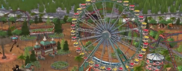 RollerCoaster Tycoon World The Ride Teaser Trailer