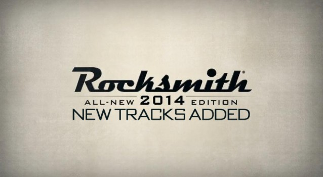 Rocksmith 2014 Song List Finalised