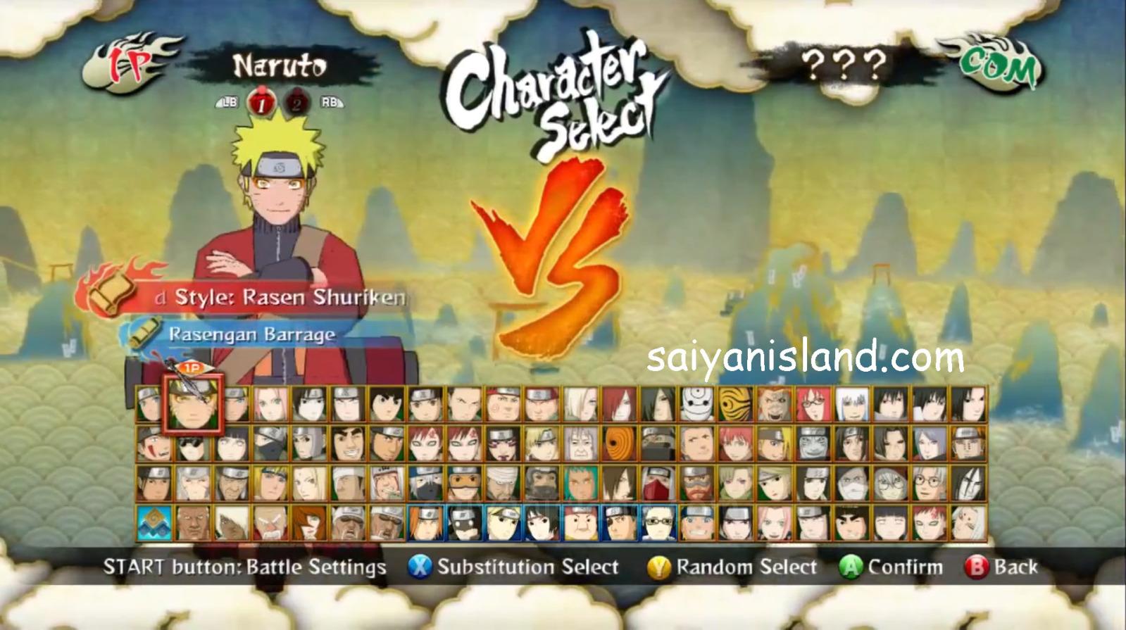 Naruto Shippuden Ultimate Ninja Storm 3 Review (360)