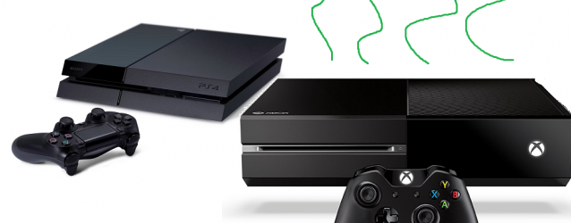 xbox one, playstation 4, sony, microsoft, battle, console war, stinks, huge, bad picture